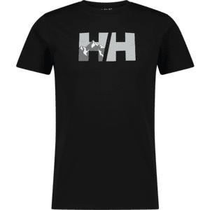 Helly Hansen Hh Logo Tee M T-paidat BLACK  - Size: Small