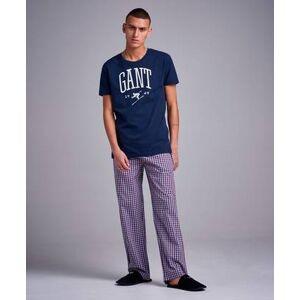 Gant Pajama Set Tee Blå