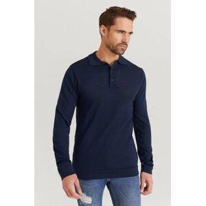 Studio Total Strikket genser Finch Knitted Shirt Blå