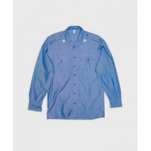 Vintage by Stayhard Skjorte Italian Chambray Shirt Blå