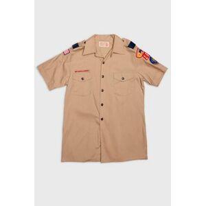 Vintage by Stayhard Skjorte Scout S/S Shirt Brun