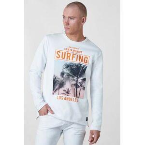 Adrian Hammond Klær Gensere og jakker Sweatshirts Male Hvit