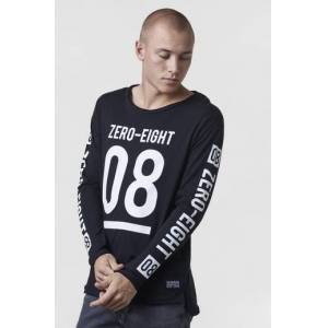 Adrian Hammond Klær Gensere og jakker Langermede T-shirts og bestefargensere Male Svart
