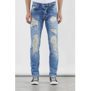 Adrian Hammond Klær Jeans Slim fit jeans Male Blå