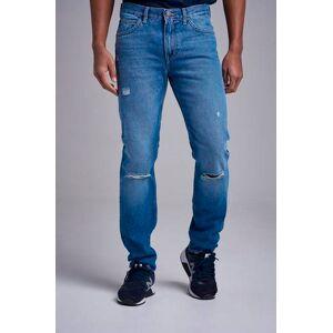 Lee Klær Jeans Regular fit jeans Male Blå