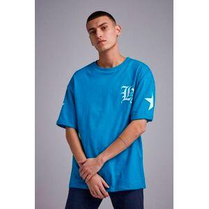 Adrian Hammond T-shirt Tape sleeve tee Blå