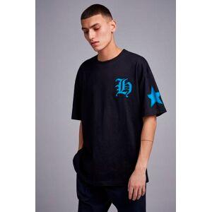 Adrian Hammond T-shirt Tape sleeve tee Svart