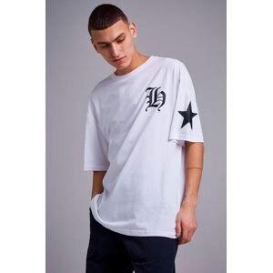 Adrian Hammond T-shirt Tape sleeve tee Hvit