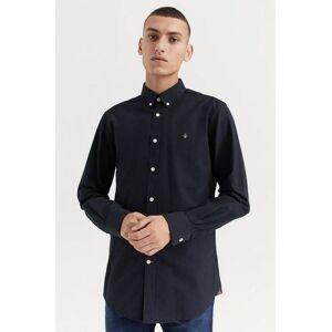 Morris Klær Skjorter Ensfargete skjorter Male Svart
