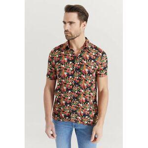 GABBA Klær Skjorter Kortermede skjorter Male Svart