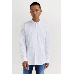 JUNK de LUXE Klær Skjorter Mønstrete skjorter Male Hvit