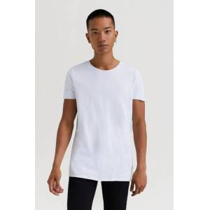 JUNK de LUXE Klær T-shirt Ensfargete T-shirts Male Hvit