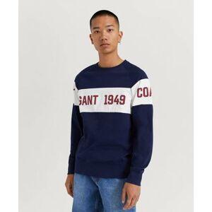 Gant Klær Gensere og jakker Sweatshirts Male Blå