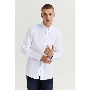 Calvin Klær Skjorter Ensfargete skjorter Male Hvit