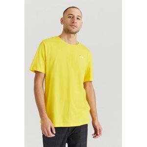 FILA Klær T-shirt Ensfargete T-shirts Male Gul