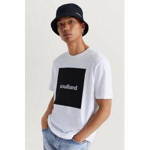 Soulland Klær T-shirt T-shirts med logo eller trykk Male Hvit