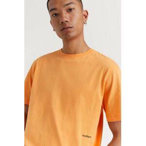 Soulland Klær T-shirt T-shirts med logo eller trykk Male Orange