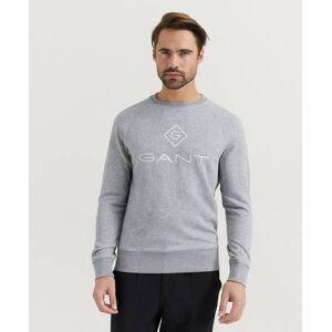 Gant Klær Gensere og jakker Sweatshirts Male Grå