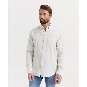 Gant Klær Skjorter Ensfargete skjorter Male Natur