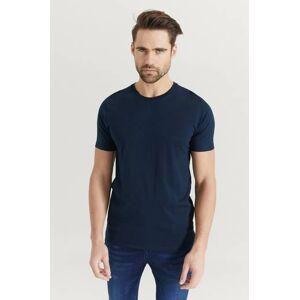 JUNK de LUXE Klær T-shirt Ensfargete T-shirts Male Blå