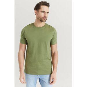JUNK de LUXE Klær T-shirt Ensfargete T-shirts Male Grønn