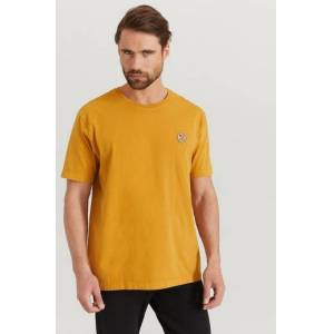 Nudie Jeans Klær T-shirt Ensfargete T-shirts Male Orange