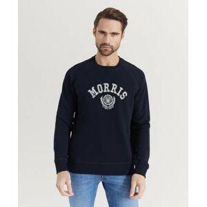 Morris Klær Gensere og jakker Sweatshirts Male Blå