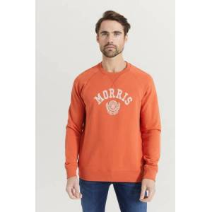 Morris Klær Gensere og jakker Sweatshirts Male Rød