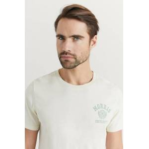 Morris Klær T-shirt Mønstrete T-shirts Male Hvit