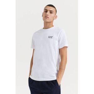 Giorgio Armani Klær T-shirt Ensfargete T-shirts Male Hvit