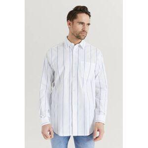 Just Junkies Klær Skjorter Mønstrete skjorter Male Hvit