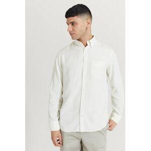 NN07 Klær Skjorter Ensfargete skjorter Male Hvit