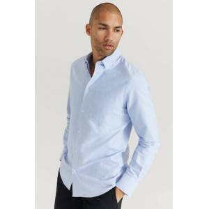 Filippa K Klær Skjorter Ensfargete skjorter Male Blå
