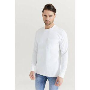 Helmut Lang Klær Gensere og jakker Langermede T-shirts og bestefargensere Male Hvit