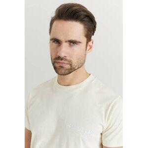 Helmut Lang Klær T-shirt T-shirts med logo eller trykk Male Hvit