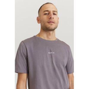 Mouli Klær T-shirt T-shirts med logo eller trykk Male Lilla