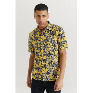 JUNK de LUXE Klær Skjorter Kortermede skjorter Male Gul