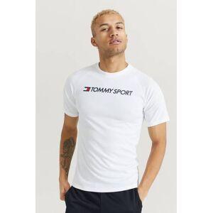 Tommy Hilfiger Klær T-shirt T-shirts med logo eller trykk Male Hvit