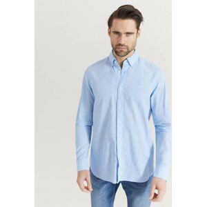 Calvin Klær Skjorter Ensfargete skjorter Male Blå