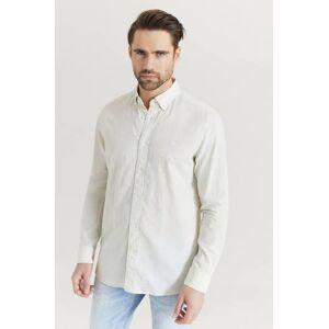 Calvin Klær Skjorter Ensfargete skjorter Male Natur