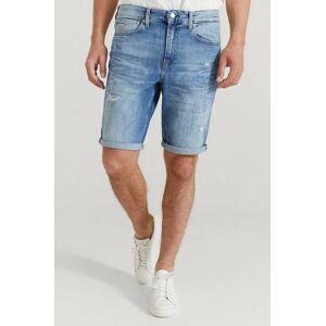 Calvin Klær Shorts Jeansshorts Male Blå