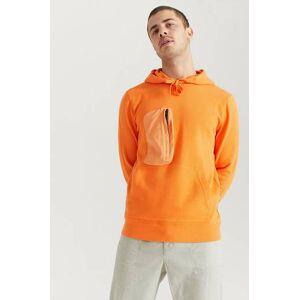 Peak Performance Klær Gensere og jakker Hoodies og zipjakker Male Orange