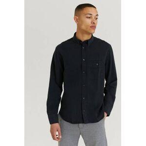 Filippa K Klær Skjorter Ensfargete skjorter Male Svart
