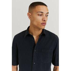 Filippa K Klær Skjorter Kortermede skjorter Male Svart