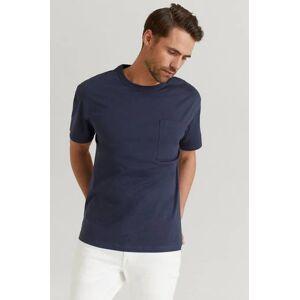 Filippa K Klær T-shirt Ensfargete T-shirts Male Blå