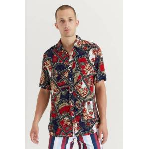 Just Junkies Klær Skjorter Kortermede skjorter Male Rød