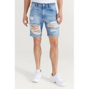 Just Junkies Klær Shorts Jeansshorts Male Blå