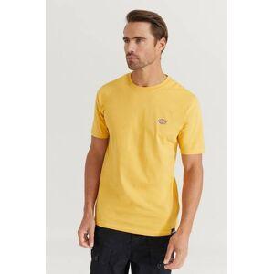 Dickies Klær T-shirt Ensfargete T-shirts Male Gul