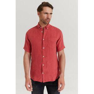 NN07 Klær Skjorter Kortermede skjorter Male Svart
