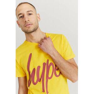 Hype Klær T-shirt T-shirts med logo eller trykk Male Gul